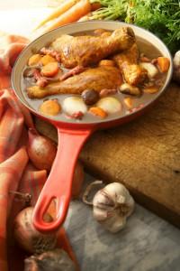 Poulet au vinaigre de cidre